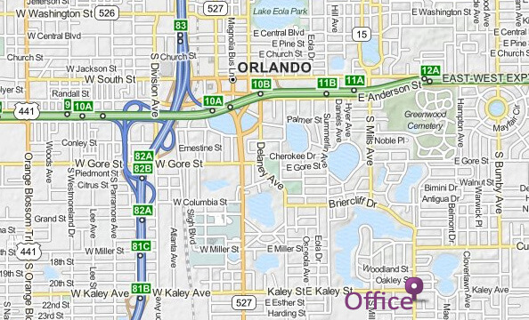 Downtown Orlando Location